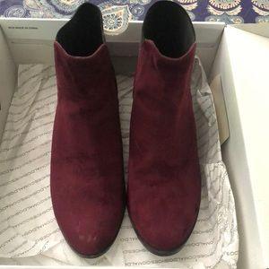 Aldo suede boots matron size 6.5